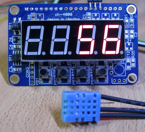 ch-4060 – регулятор температуры и влажности на датчике DHT11/DHT22/AM2302