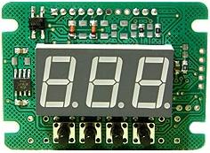 Простой цифровой вольтметр ch-c3200
