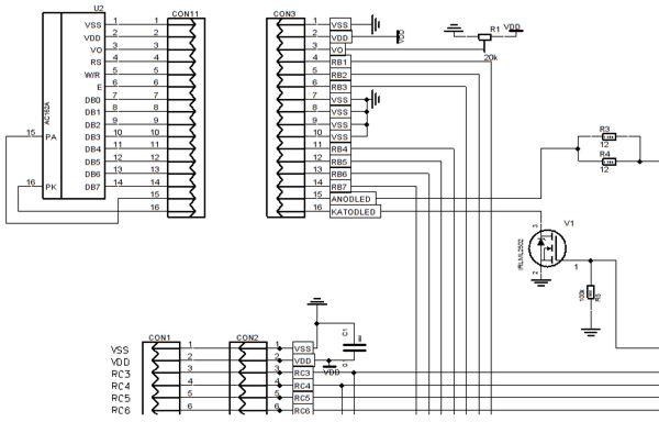 LCD индикаторы в проекте