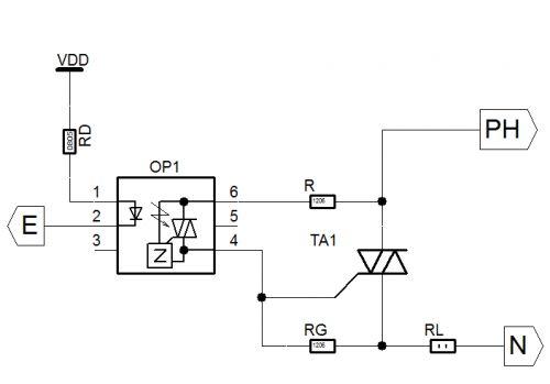 ac light dimming using microcontroller