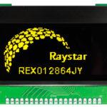 OLED RET012864E/REX012864J интерфейс 6800