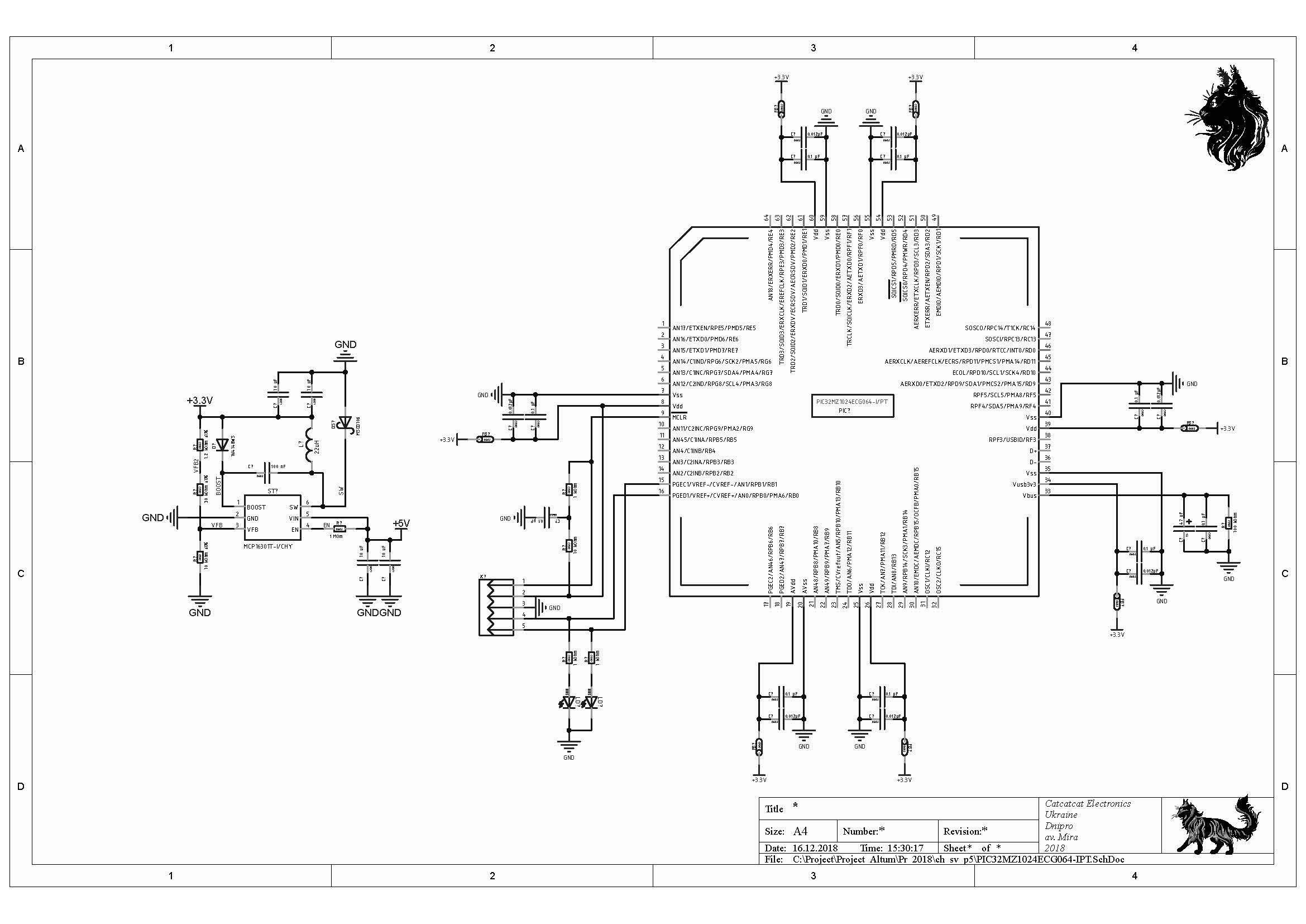 MPLAB® Harmony – или как это просто! Часть 2  | Catcatcat electronics