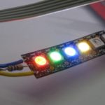 Neopixel LED и PIC18 – библиотека драйвера и создание световых эффектов