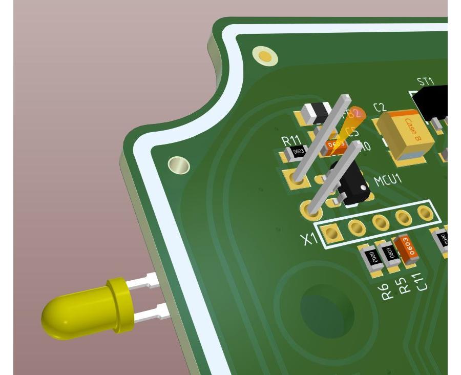 Простой оптический сенсор приближения (прошивка, режим выключателя)