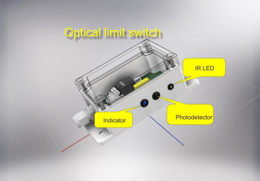 Простой оптический сенсор приближения (прошивка, shutdown delay mode 2 sec.)