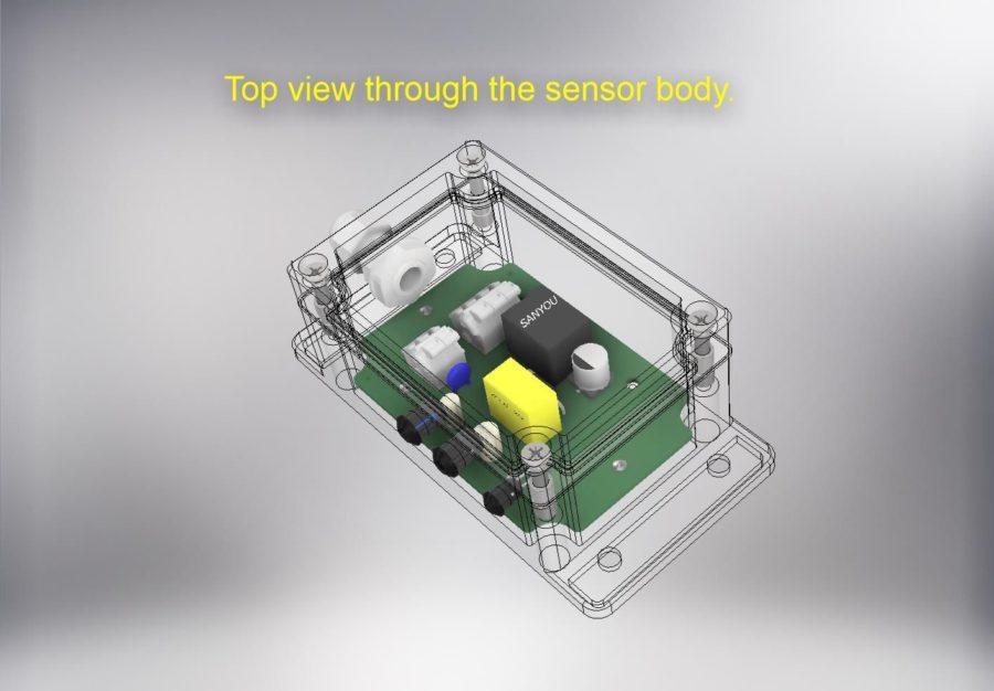 Простой оптический сенсор приближения (проект)